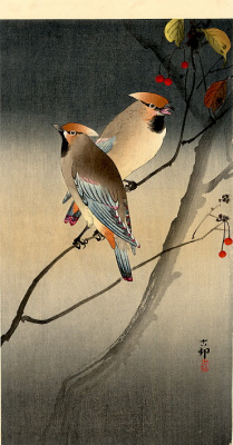 Ohara Koson. Birds 44