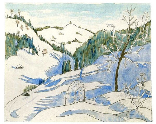 Gabriele Münter. Shadow of the morning
