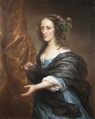 Говерт Флинк. Портрет женщины, возможно Петронеллы ван Панхус