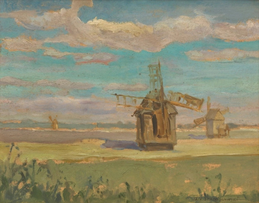 Jan Stanislavsky. Windmills