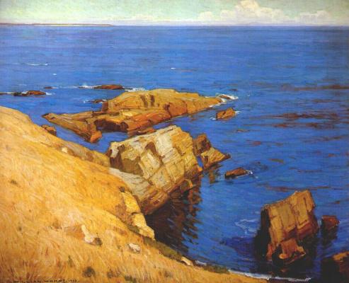 Уильям Вендт. Тихое летнее море