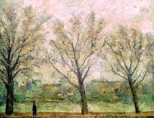 Robert Rafailovich Falk. Three trees