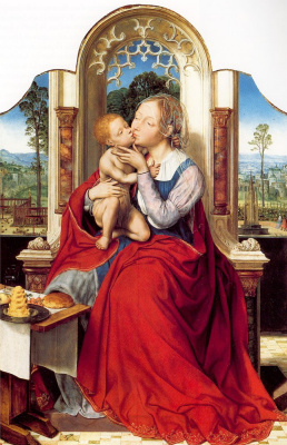 Quentin Masseys. Madonna and Child