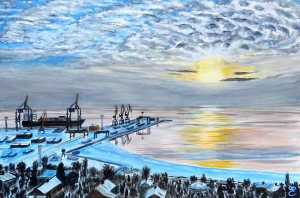 Dmitry Eremenko. Port of Mariupol