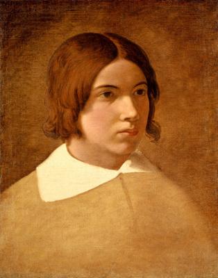 Johann Friedrich Overbeck. Portrait of the artist Franz von Rodin