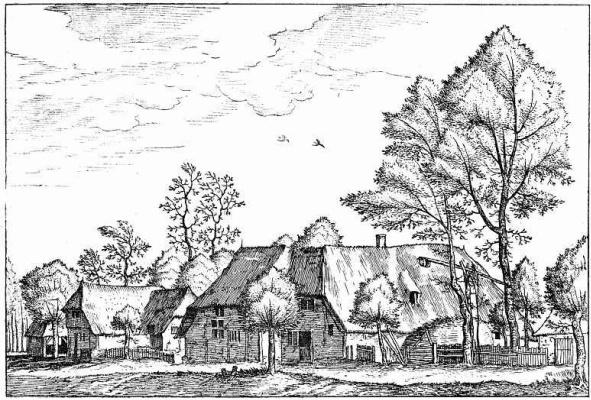 "Pieter Bruegel The Elder. The series ""Small landscapes"". Landscape No. 19"