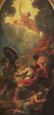 Бенджамин Уэст. Центральная панель триптиха