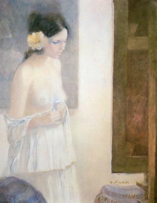 Адольфо Эстрада. Цветок в волосах