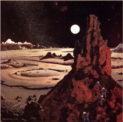 Чесли Бонестелл. Лунный свет