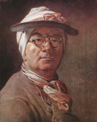 Жан Батист Симеон Шарден. Автопортрет в очках