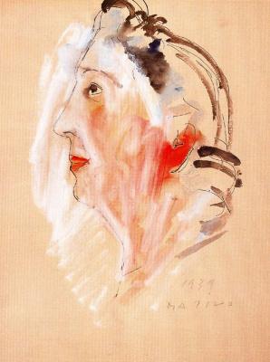 Марино Марини. Женщина