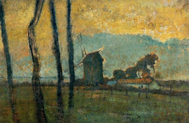 Эдгар Дега. Пейзаж в Сен-Валери-сюр-Сомм