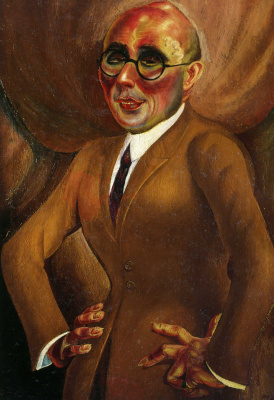Otto Dix. Portrait of the jeweler Karl Krall