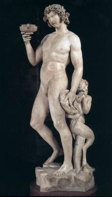 Michelangelo Buonarroti. Bacchus