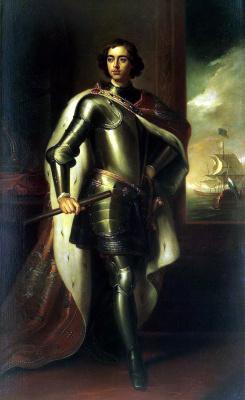 Портрет Петра I