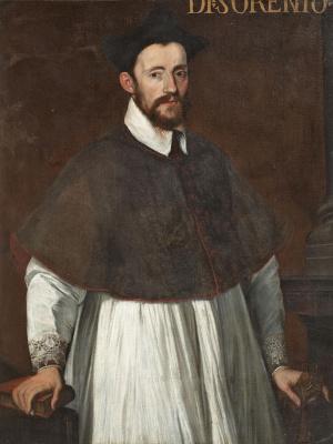 Антонис ван Дасхорст Мор. Портрет кардинала ди Соренто