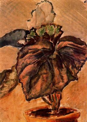 Луис Кастельянос. Цветок в горшке