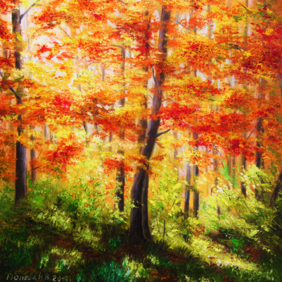 Natalia Viktorovna Tyuneva. Colors of autumn