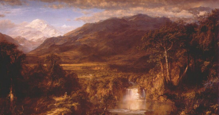 Frederick Edwin Church. Heart Of The Andes