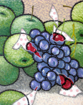 Yuri Vladimirovich Sizonenko. Apples and grapes.