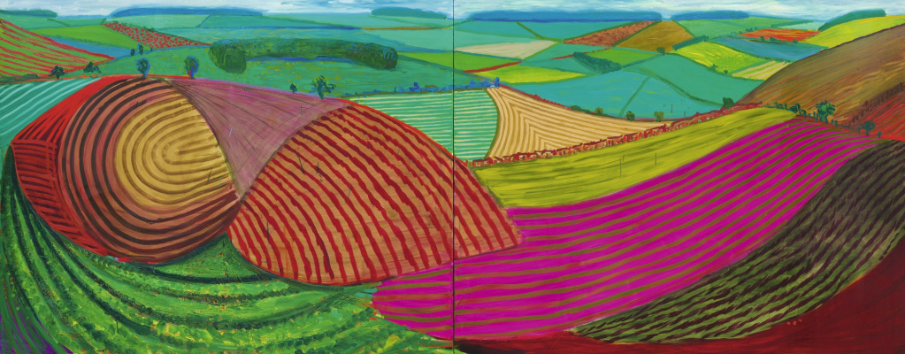 David Hockney. Double East Yorkshire