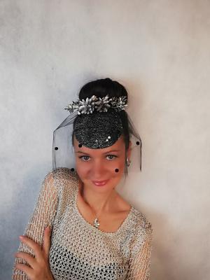 """Natalia Vladimirovna Solntseva. Hat """"Silver cones"""""""