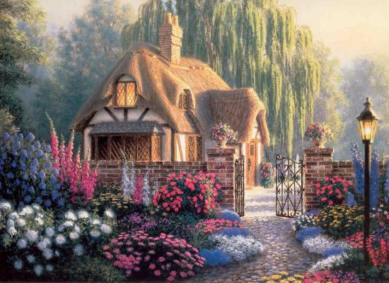 Ричард Бернс. Крэнфилдские сады
