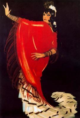 Рафаэль де Пенагос. В красном
