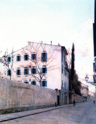 Телемако Синьорини. Пейзаж