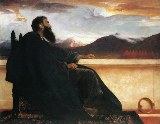 Frederic Leighton. David
