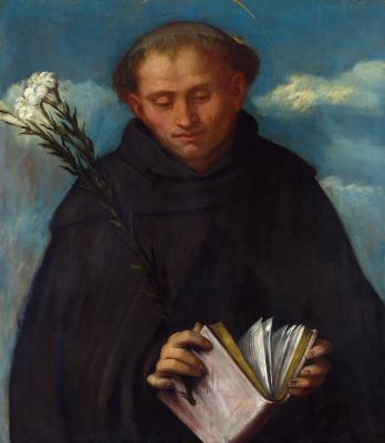 Girolamo Romanino. St. Filippo Benizzi