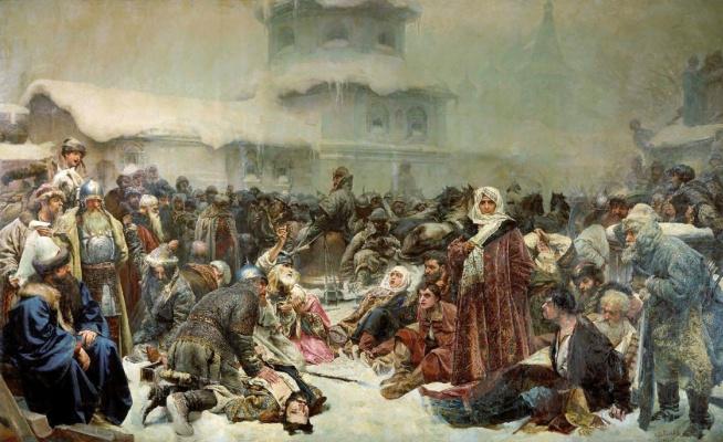 The abduction of a bell. Martha Posadnitsa. The destruction of the Novgorod Veche