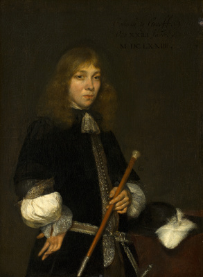Gerard Terborch (ter Borch). Portrait of Cornelis de Graff