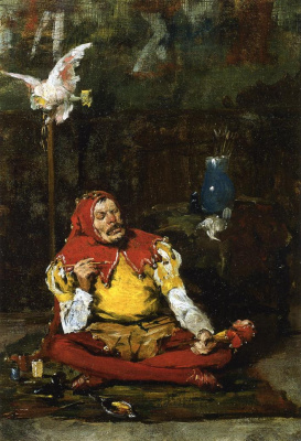 William Merritt Chase. Royal jester