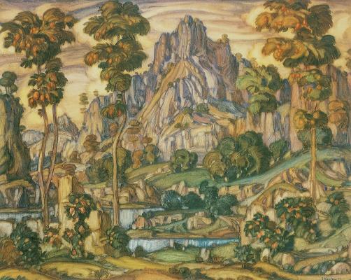Konstantin Fedorovich Bogaevsky. Earth Cimmerian