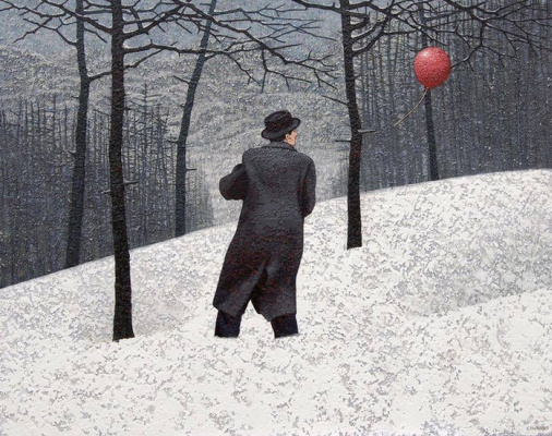 Марк Эдвардс. Man and red ball