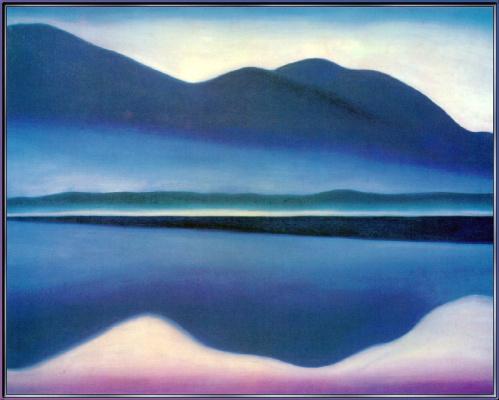 Джорджия О'Киф. Озеро
