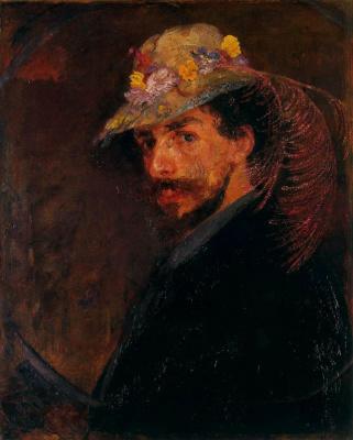 James Ensor. Hat