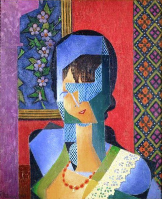 Jean Metzinger. Woman with lace