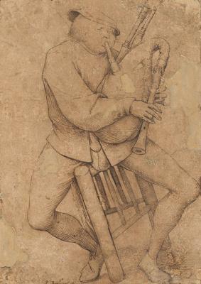 Играющий на волынке