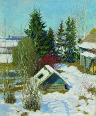 Igor Grabar. The last snow