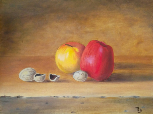 Olga Nadtochaeva. Apples