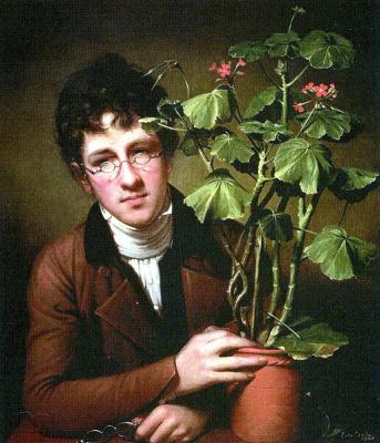 Рембрандт Пил. Мальчик с цветком