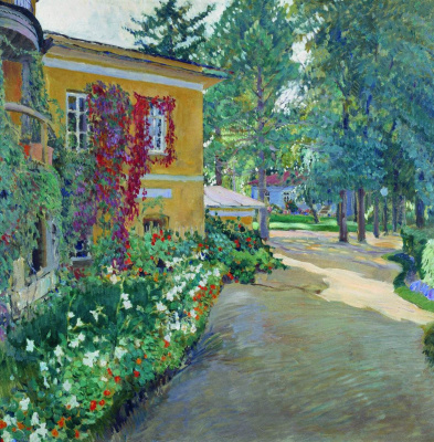 Sergey Arsenievich Vinogradov. In the estate