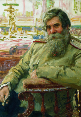 Portrait of a neurologist and psychiatrist V. M. Bekhterev