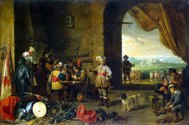 David Teniers the Younger. Guardhouse