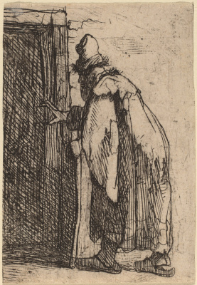 Rembrandt Harmenszoon van Rijn. The Blindness of Tobit: a Sketch