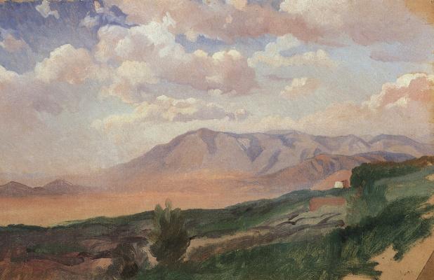 Nikolai Nikolaevich Ge. Mountains. Vico. Etude