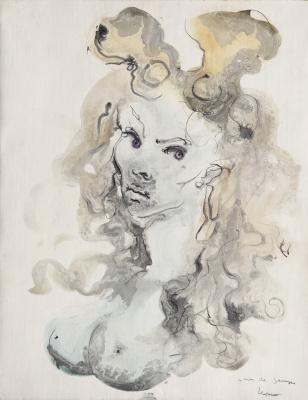 Leonor Fini. Portrait