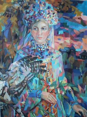 Irina Valerievna Antonovskaya. Barn owl